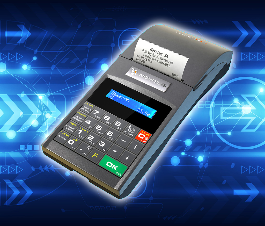 Niewielka i szybka drukarka fiskalna
