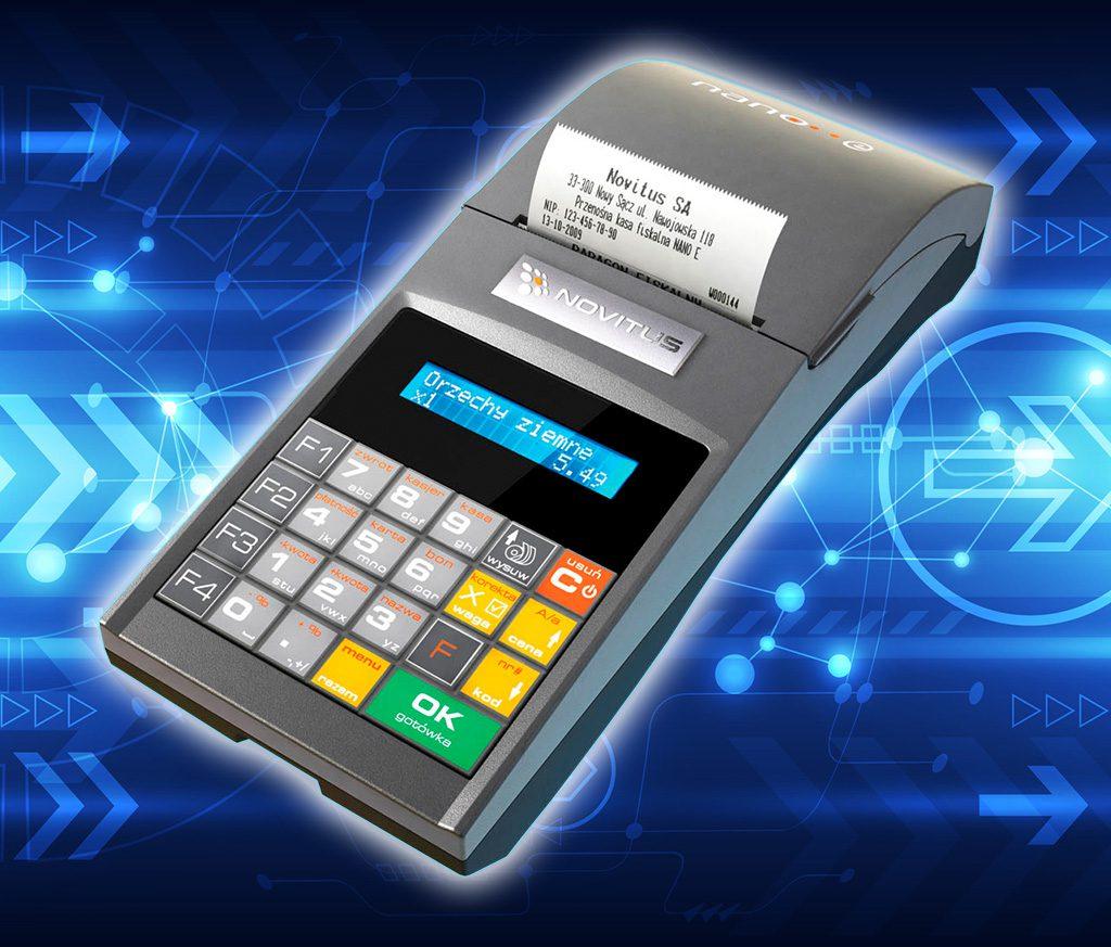 Novitus Nano E – uznana kasa, która jest już gotowa na system online